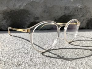 Handmade Mykita has intricate hinge details leaving them long-lasting and unique.